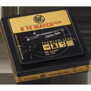 RWS Pellets - R10 MATCH PLUS, cal. 4,5, 0,53g
